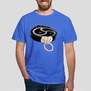 BDSM Emblem and Leather Collar Dark T-Shirt