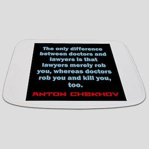 The Only Difference - Anton Chekhov Bathmat