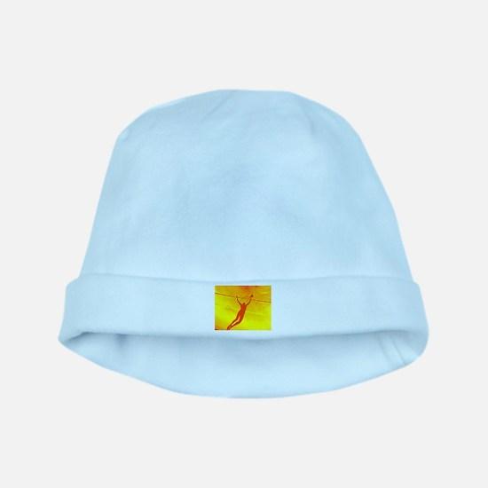 VOLLEYBALL ORANGE baby hat