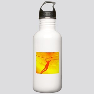 VOLLEYBALL ORANGE Stainless Water Bottle 1.0L
