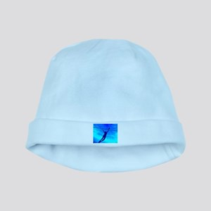 VOLLEYBALL BLUE baby hat