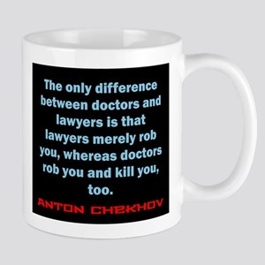 The Only Difference - Anton Chekhov 11 oz Ceramic