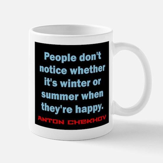 People Dont Notice - Anton Chekhov Mug