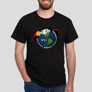 Apollo 7 Mission Patch Dark T-Shirt
