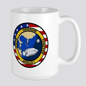 Apollo 1 Mission Patch Large Mug