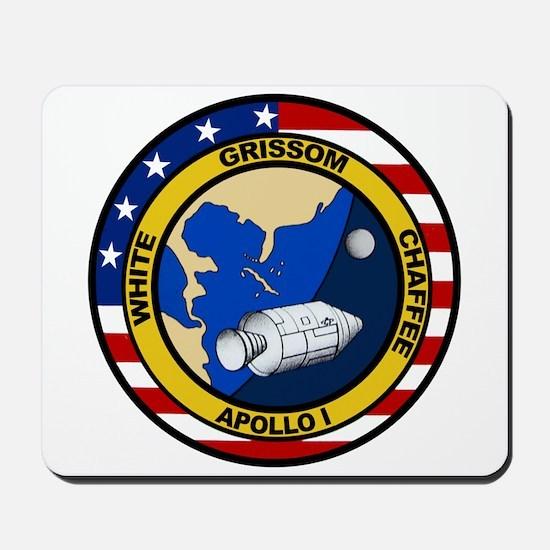 Apollo 1 Mission Patch Mousepad