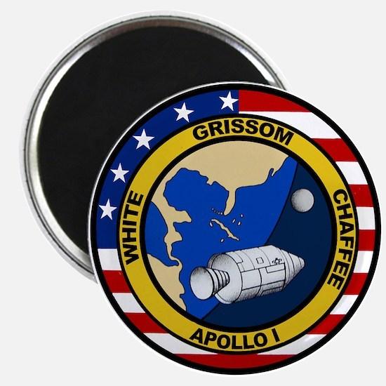 Apollo 1 Mission Patch Magnet