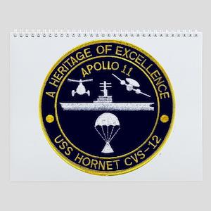 Uss Hornet Apollo 11 Wall Calendar