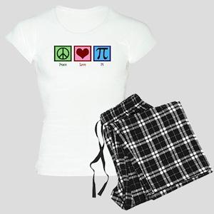 Peace Love Pi Women's Light Pajamas