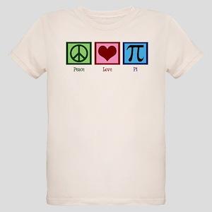 Peace Love Pi Organic Kids T-Shirt