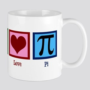 Peace Love Pi Mug