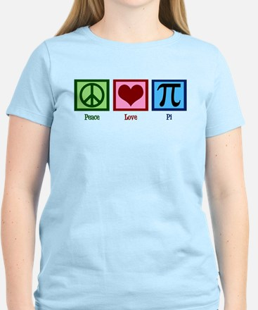 Peace Love Pi Women's Light T-Shirt