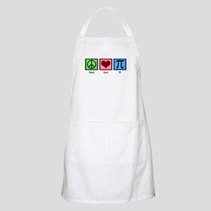 Peace Love Pi Apron