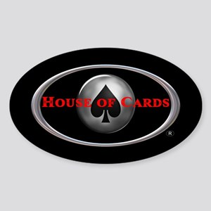 House of Cards logo Sticker