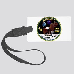 Apollo 11 40th Anniversary Large Luggage Tag
