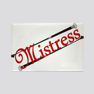 """""""Mistress"""" Title with Riding Crops Rectangle Magne"""