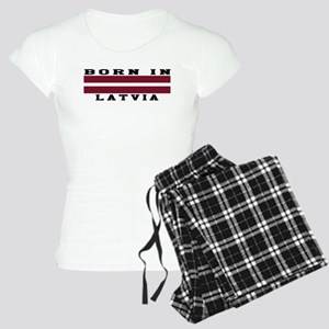 Born In Latvia Women's Light Pajamas
