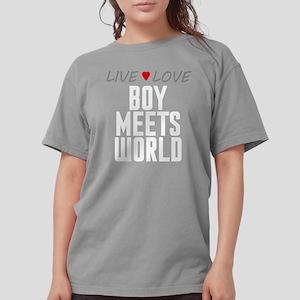 Live Love Boy Meets World Womens Comfort Colors Sh