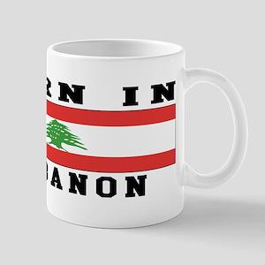Born In Lebanon Mug
