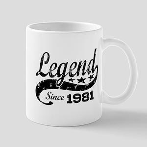 Legend Since 1981 Mug