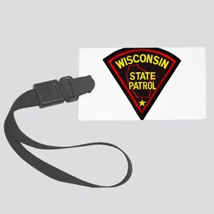Wisconsin State Patrol Luggage Tag