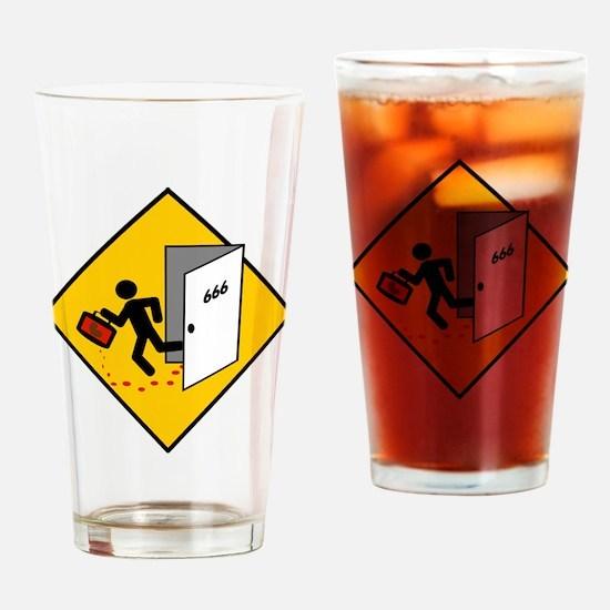 Kidney Motel Drinking Glass