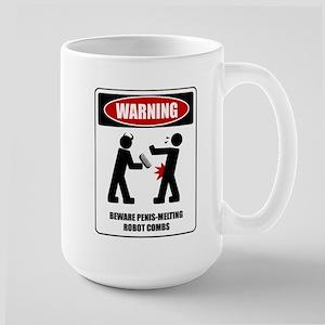 Penis Melting Robot Combs Mug