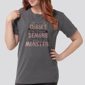 I Believe In Curses Womens Comfort Colors Shirt