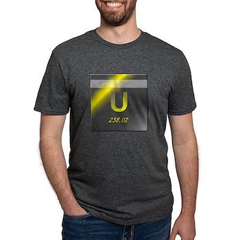 Uranium (U) Mens Tri-blend T-Shirt
