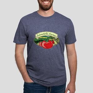 Salmonella Farms - Tomatoes Mens Tri-blend T-Shirt