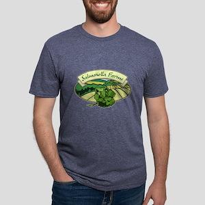 Salmonella Farms - Cilantro Mens Tri-blend T-Shirt