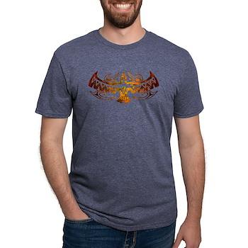 Tribal Thunderbird Tattoo Mens Tri-blend T-Shirt