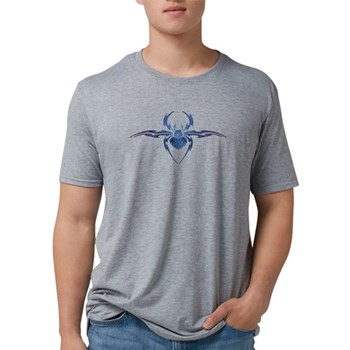 Tribal Spider Tattoo Mens Tri-blend T-Shirt