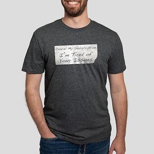 Cancel My Subscription Mens Tri-blend T-Shirt