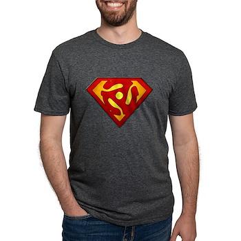 Super DJ 45 RPM Adapter Mens Tri-blend T-Shirt