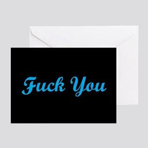 Fuck You Greeting Cards (Pk of 20)