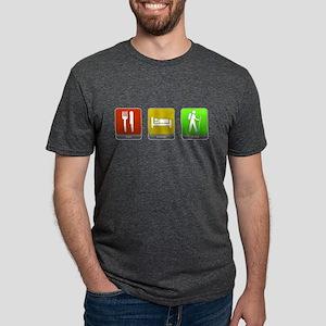 Eat, Sleep, Hike Mens Tri-blend T-Shirt