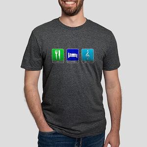 Eat, Sleep, Music Mens Tri-blend T-Shirt