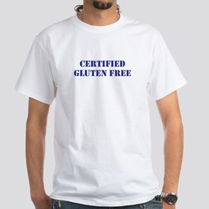 CERTIFIED GLUTEN FREE White T-Shirt