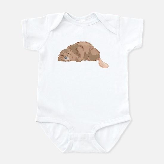 Cute Beaver Infant Bodysuit