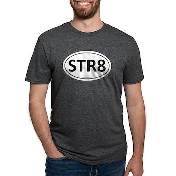 STR8 Euro Oval Mens Tri-blend T-Shirt