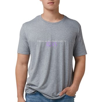 Boyfriend Might Be Gay Mens Tri-blend T-Shirt