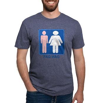 FAG HAG Sign Mens Tri-blend T-Shirt
