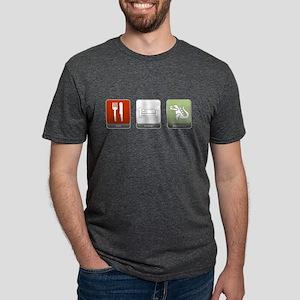 Eat, Sleep, Destroy Mens Tri-blend T-Shirt