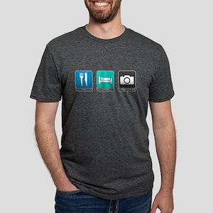 Eat, Sleep, Photography Mens Tri-blend T-Shirt