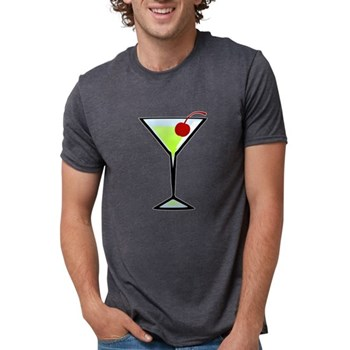 Green Apple Martini Mens Tri-blend T-Shirt