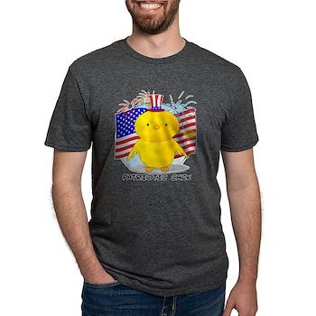 Patriotic Chick Mens Tri-blend T-Shirt