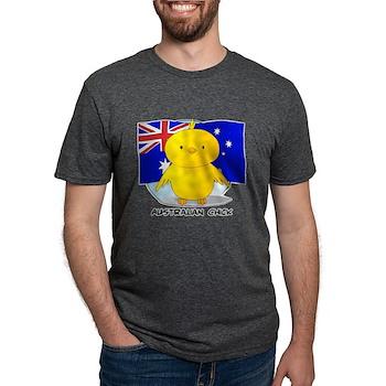 Australian Chick Mens Tri-blend T-Shirt