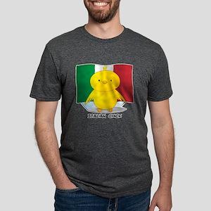 Italian Chick Mens Tri-blend T-Shirt