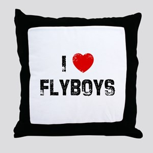 I * Flyboys Throw Pillow